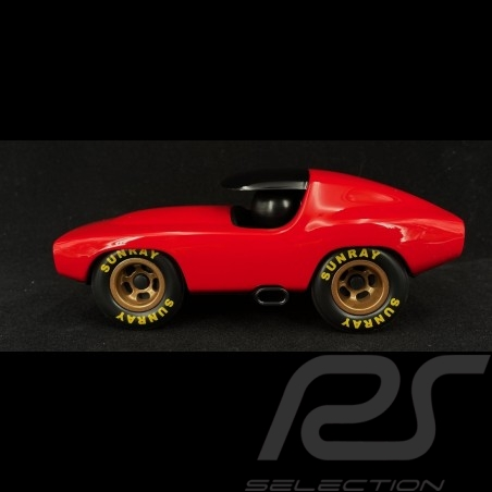 Vintage Racing Car Leadbelly Red Playforever PLVF502