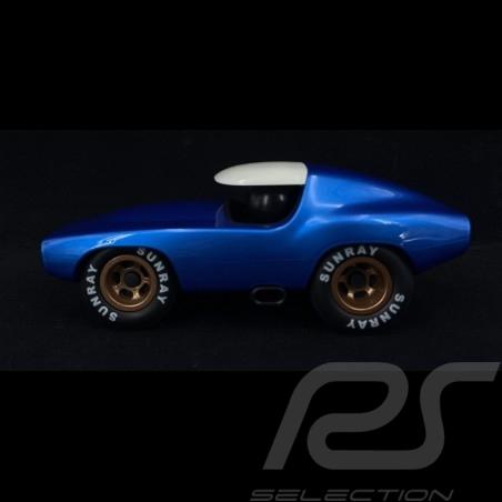 Vintage Racing Car Leadbelly Metallic Blue Playforever PLVF501