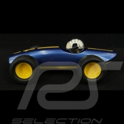 Vintage Racing Car Malibu n°4 Blue Yellow Playforever PLVERVM201