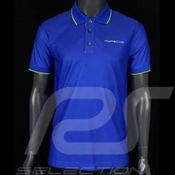 Porsche polo shirt Sport Collection Blau / Grün WAP545H - Herren