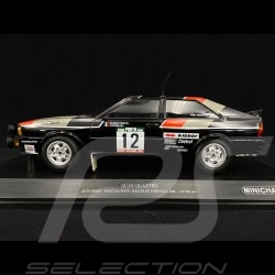 Audi Quattro Sport n° 12 Rally of Portugal 1981 1/18 Minichamps 155811112