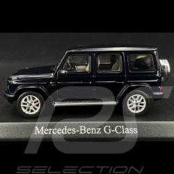 Mercedes - Benz Klasse G 500 V8 2018 Dunkelblau Metallic 1/43 Norev 351343