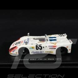 Porsche 908 Le Mans 1974 n°65 1/43 Spark S1879