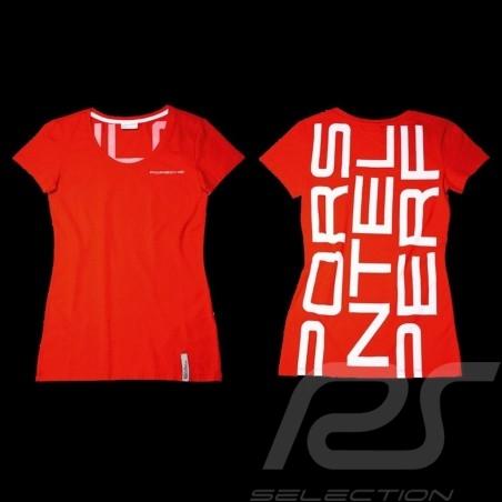 Porsche T-shirt Racing red Porsche Design WAP797 - woman