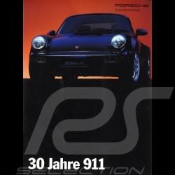 Porsche Brochure 30 Jahre 911 2/93 in german WVK129.710