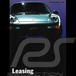 Porsche Brochure Leasing 1993 in german