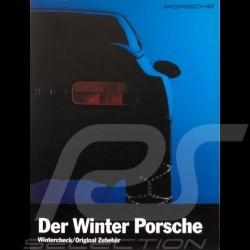 Porsche Brochure Winter equipment Der Winter Porsche in german