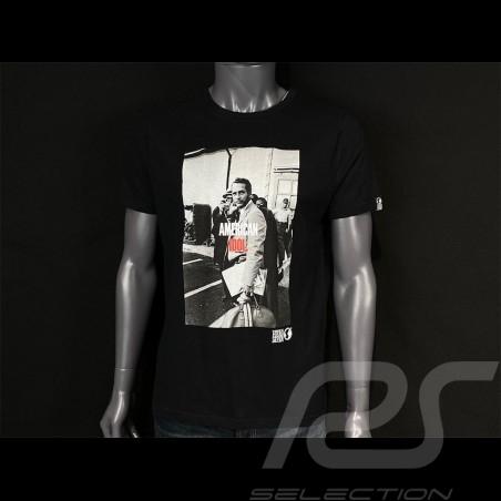 Paul Newman T-shirt American Idol Black Hero Seven - men