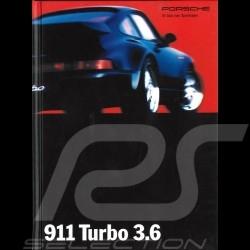 Porsche Brochure 911 Turbo 3.6 9/93 in german WVK12771094