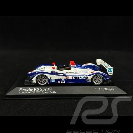 Porsche RS Spyder GP ALMS Utah 2007 n° 20 1/43 Minichamps 400076620