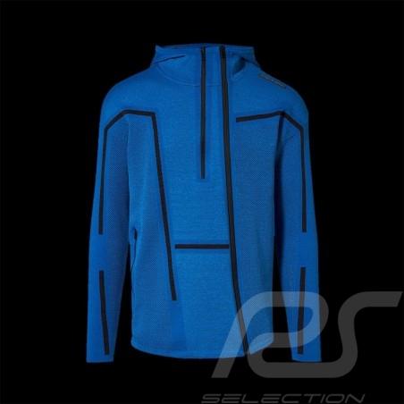 Veste tracksuit jacke Sport Porsche Design by Puma Active EVO Knit Midlayer Bleu blue blau 57858508