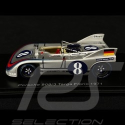 Porsche 908/3 N°8 Targa Florio 1971 1/43 Spark S2332