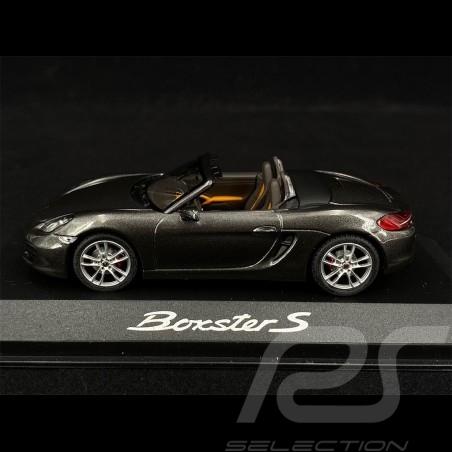 Porsche Boxster S 981 2013 gris quartz grey grau 1/43 Minichamps WAP0202010D