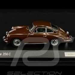Porsche 356 C Coupé 1963 brown 1/43 Minichamps WAP0203560H
