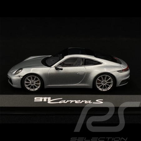 Porsche 911 type 992 Carrera 2S Coupé 2019 gris grey grau Dolomite 1/43 Minichamps WAP0201700K