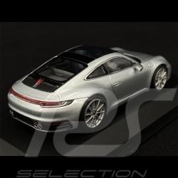 Porsche 991 Carrera 4 GTS silver 1/43 Schuco WAP0201020F