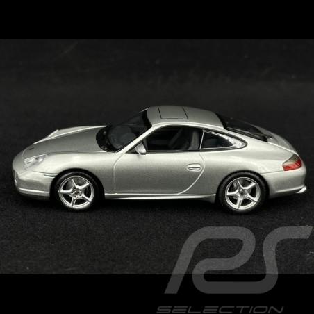 """Porsche 911 type 996 """" 40 Jahre Jubiläum """" 2003 grau 1/43 Minichamps 436061070"""