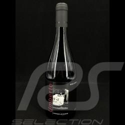 Bottle of red wine Umberto Porsche Museum Terre Siciliane Nero d'Avola 2018