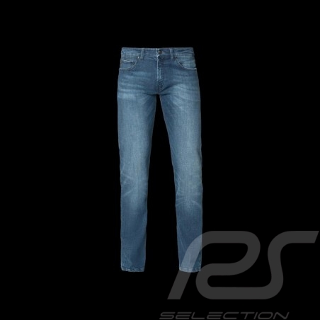 Jeans Porsche Slim Fit bleu confortable délavé Porsche Design 40469018693 - homme