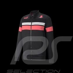Porsche Targa  Jacket by Puma Softshell Tracksuit Black / Pink / White - Men
