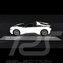 BMW i8 Roadster 2018 Kristallweiß 1/43 Minichamps 410027031