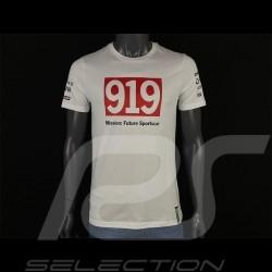 Porsche T-shirt 919 Mission : Future Sportscar White Porsche WAP796F - unisex