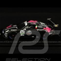 Porsche 911 Type 991 GT3 Cup n° 32 Vainqueur Winner Sieger Carrera Cup Italia 2018 1/43 Spark SI008