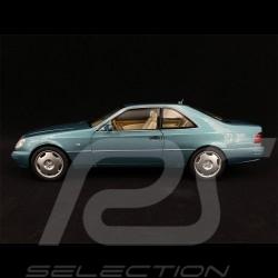 Mercedes - Benz CL600 Coupé 1997 Bleu Métallique Blue Blau Metallic 1/18 Norev 183448
