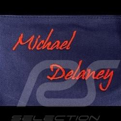 Gulf  Jacket Michael Delaney / Steve McQueen Le Mans Cotton Dark Blue - men