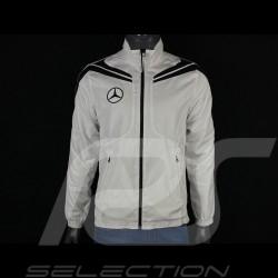 Veste Mercedes Coupe vent Blanc / Noir Mercedes-Benz SG9840 - homme