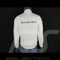 Mercedes Windbreaker jacket White / Black Mercedes-Benz SG9840 - men