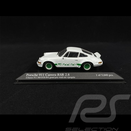 Porsche 911 2.8 Carrera RSR white Grand Prix 1/43 Minichamps 430736908