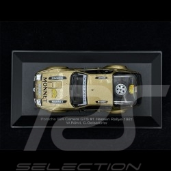 Porsche 924 Carrera GTS n° 1 Winner Rally Hessen 1981 1/43 CMR WRC015