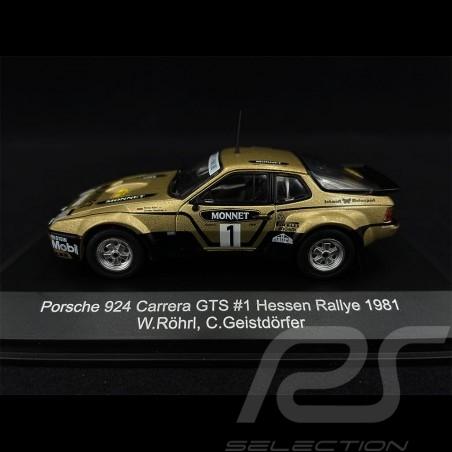 Porsche 924 Carrera GTS n° 1 Vainqueur Winner Sieger Rallye Hessen 1981 1/43 CMR WRC015