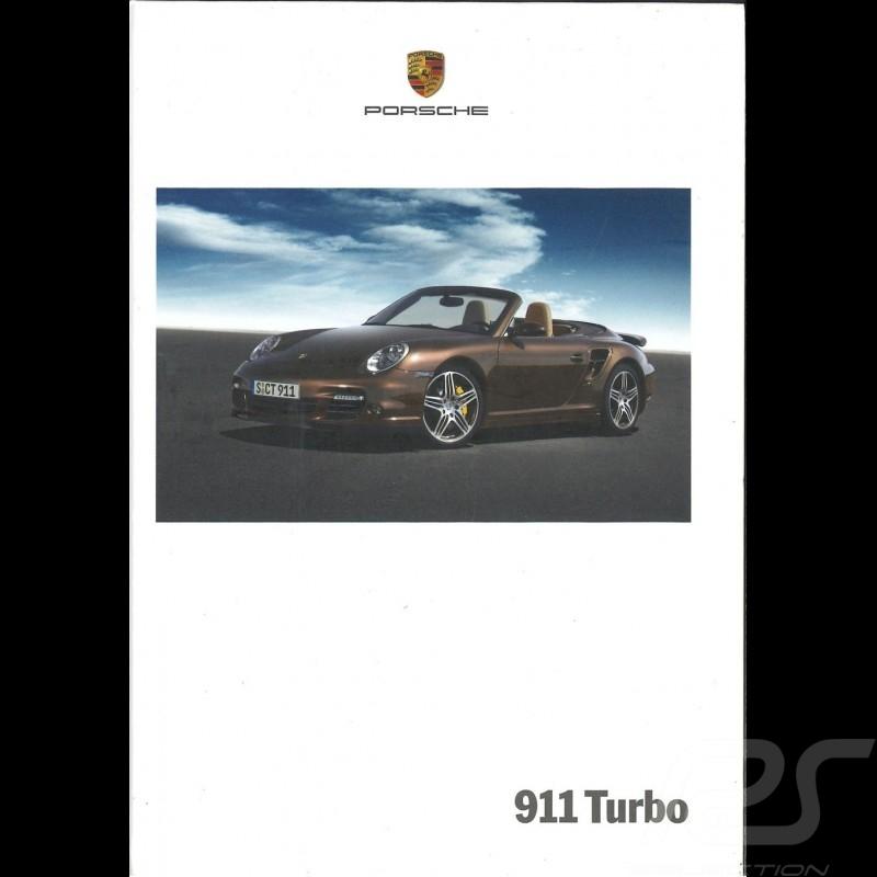 Porsche Brochure 911 Turbo 04/2007 in french WVK23013008