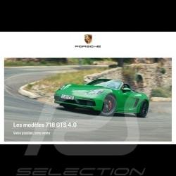 Porsche Brochure 718 GTS 4.0 Votre passion, sans limite 01/2020 in french WSLN2001000430