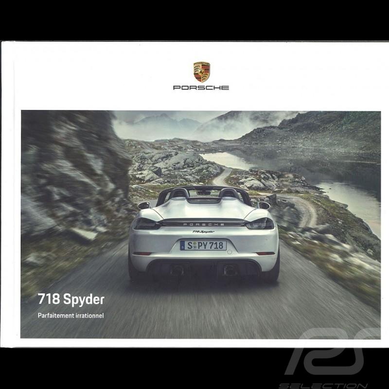Porsche Brochure  718 Boxster Spyder Parfaitement irrationnel 06/2019 in french WSLN2001001730