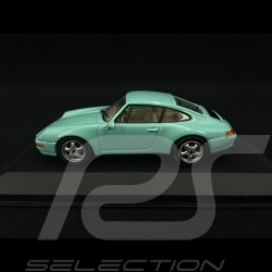 Porsche 911 type 993 1993 Vert menthe 1/43 Minichamps MIN063002
