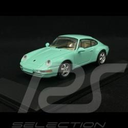 Porsche 911 type 993 1993 Mint gren 1/43 Minichamps MIN063002