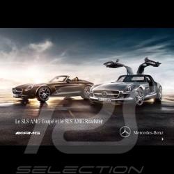 Brochure Mercedes SLS AMG Coupé et SLS AMG Roadster 2011 10/2011 en français MESS4003-01