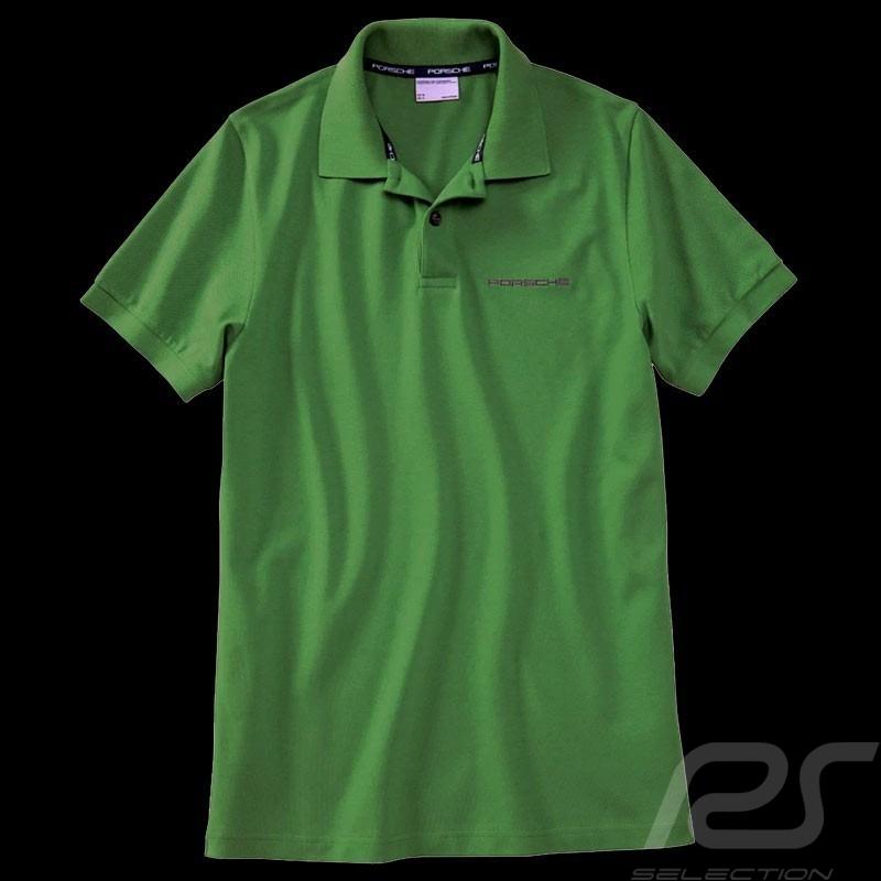 Porsche Polo shirt classic Signal green WAP812F - men