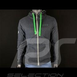 Veste jacket jacke Porsche à capuche hoodie Carrera RS 2.7 Gris Chiné WAP954G - homme