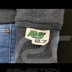 Porsche hoodie Jacket Carrera RS 2.7 Heather Gray WAP954G - men