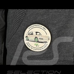 Porsche hoodie Jacket Carrera RS 2.7 Heather Gray WAP953G - women