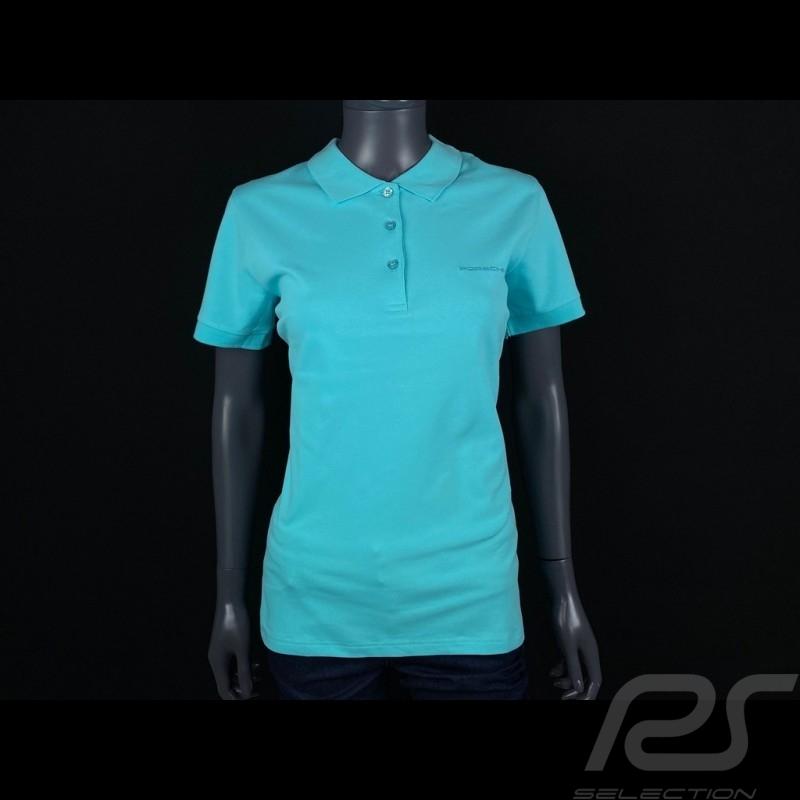 Porsche Polo shirt Light Blue WAP802F - women