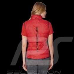 Porsche Jacket 2 in 1 multi use removable waistcoat black / red  WAP492 - women