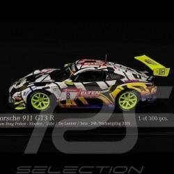Porsche 911 GT3 R N°8 24h Nürburgring Team Ring Police 2019 1/43 Minichamps 413196088