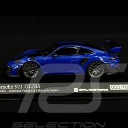 Porsche 911GT2 RS Bleu Club 2018 1/43 Minichamps 413067241