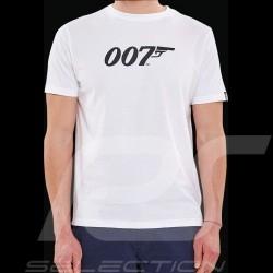 T-shirt James Bond 007 Blanc White Weiß - homme