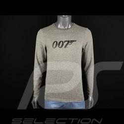 T-shirt à manches longues James Bond 007 Gris H21125 - homme